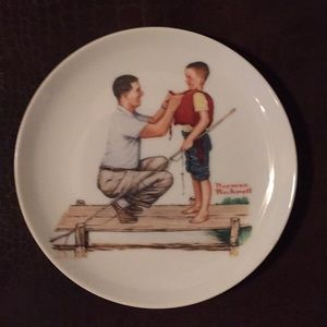 Original Norman Rockwell decorative plates